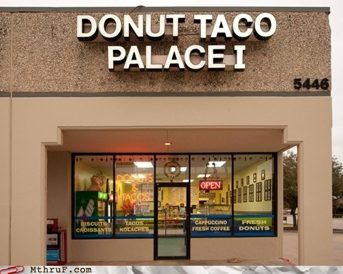 combination restaurants,donut taco palace,donuts,marketing genius,tacos