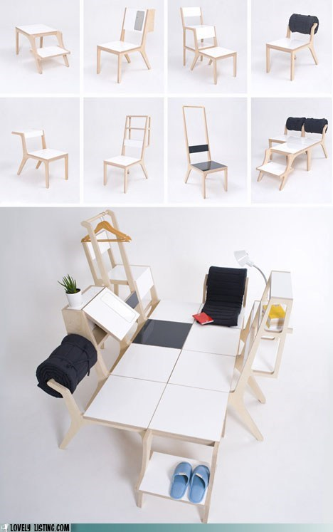 chair furniture modular versatile - 5671901184