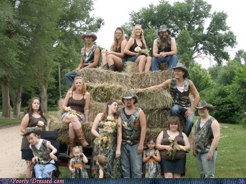 camo honeymoon redneck wedding weddings - 5672058880