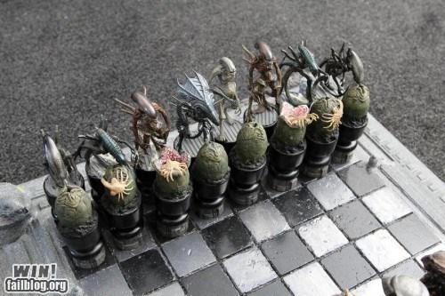 alien chess g rated nerdgasm pop culture Predator sci fi win - 5672170752