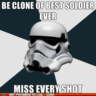 aim Clone Trooper Jango Fett miss shot star wars stormtrooper - 5672321792