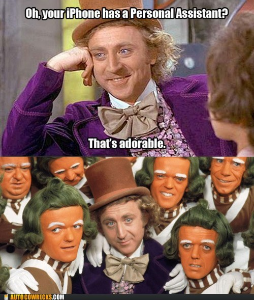 Charlie and the Chocolate Factory oompa loompa personal assistant siri Willy Wonka - 5672648960