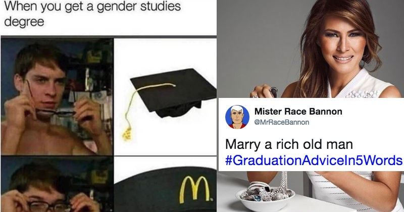 twitter graduation relatable truth sad but true advice ridiculous high school college - 5672709