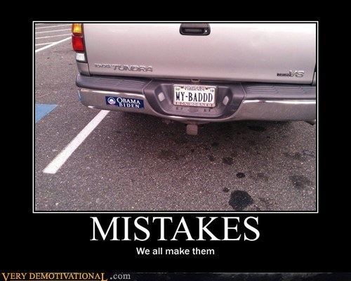 hilarious license plate mistake my bad - 5672815360