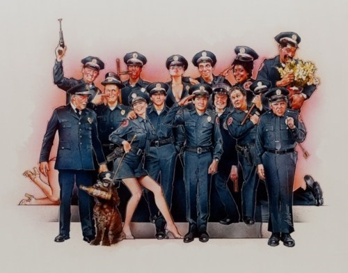 police academy Scott Zabielski Unnecessary Remake - 5672951808