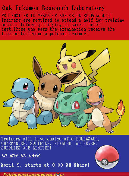 art pikachu pokemon trainer poster starters - 5673031936