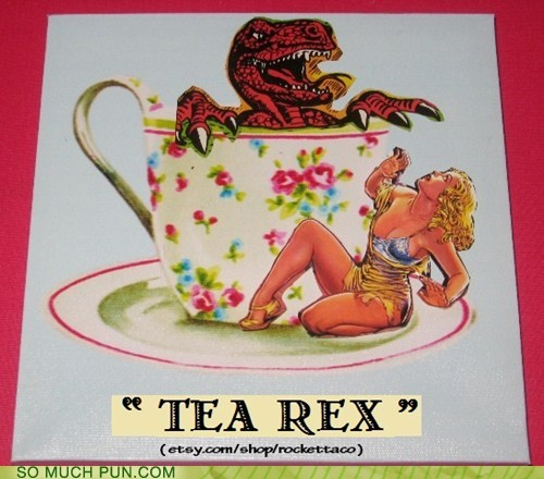 abbreviation double meaning Hall of Fame homophone literalism tea t rex tyrannosaurus rex - 5673110272