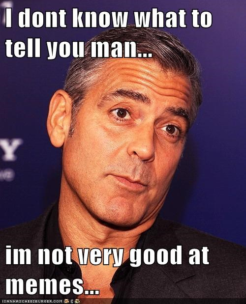 actor,celeb,funny,george clooney