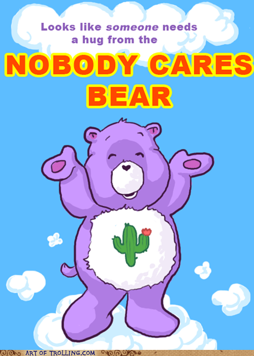 care bear hug nobody cares - 5673324800