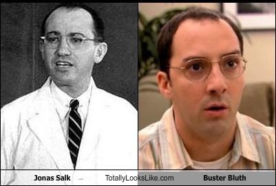 Buster Bluth funny jonas salk TLL - 5673604352