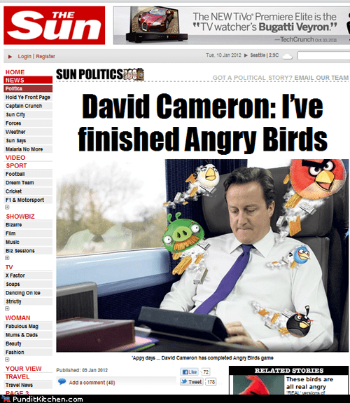 angry birds david cameron political pictures - 5675377920