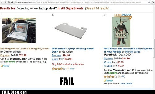amazon,juxtaposition,product fail
