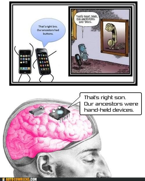 brain chips button evolution tails technology - 5675656960