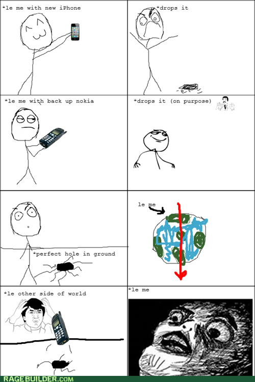 nokia phone Rage Comics raisin face world - 5675819008