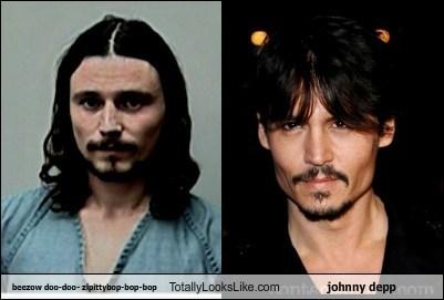 actor beezow doo-doo celeb funny Johnny Depp TLL - 5675823360