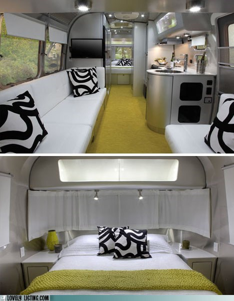 airstream,dream house,interior design,lovely