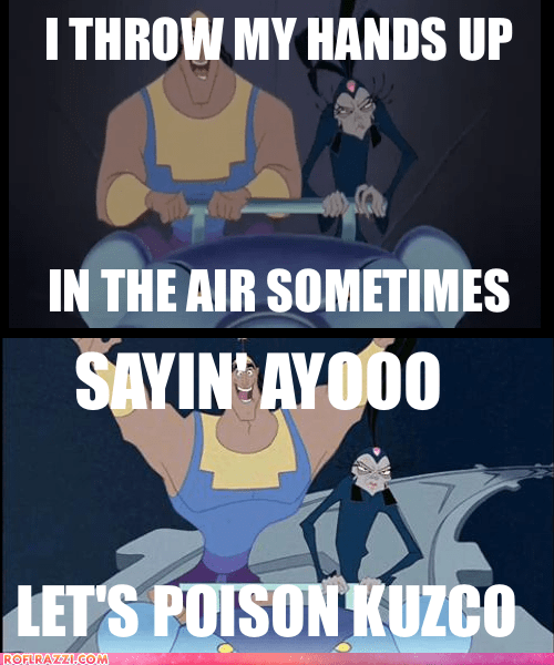 animation disney funny meme the-emperors-new-groove - 5675908096