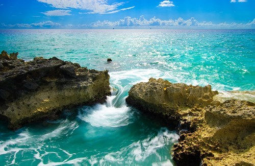 blue cayman islands getaways ocean Tropical tropics water - 5676081152