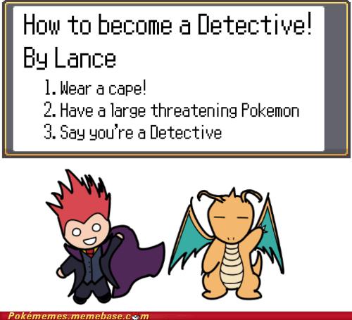detective,dragonite,elite 4,lance,Memes
