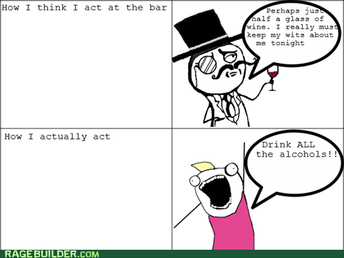 alcohol all the things sir Rage Comics - 5676268800