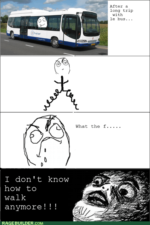 Rage Comics raisin face trip walking - 5676345088