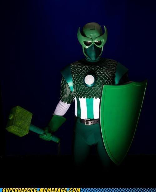 captain america hawkeye iron man Super Costume super villain Thor - 5676506368