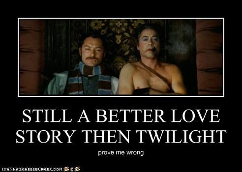 better jude law love story robert downey jr sherlock-movie sherlock holmes Watson - 5676687872