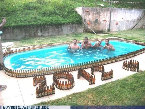 2012 art beer beer bottle drinking pool - 5676996352