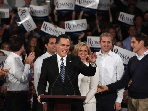 2012 Presidential Electio jon huntsman Mitt Romney New Hampshire Primary Ron Paul - 5677261312