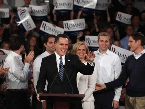 2012 Presidential Electio jon huntsman Mitt Romney New Hampshire Primary Ron Paul - 5677261312