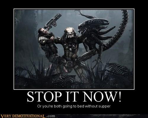 alien bed hilarious human kids predetor - 5677868544