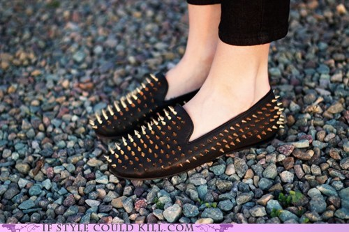 dangerous loafers spikes - 5678180864