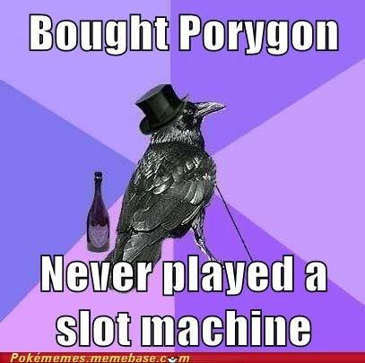 9999 coins meme Memes porygon Rich Raven - 5678351360
