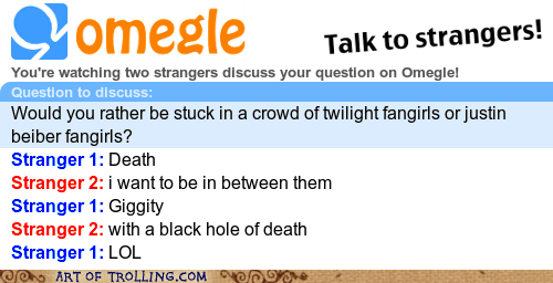 black hole,justin bieber,Omegle,spymode,twilight