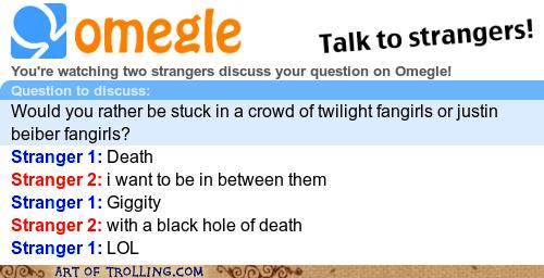 black hole justin bieber Omegle spymode twilight - 5678530304