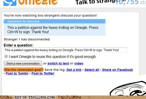 ctrl w,Omegle,petition,spymode