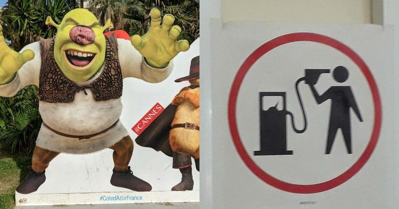 FAIL design cancer shrek school statues signs stairs books bus stop Statistics - 5679109