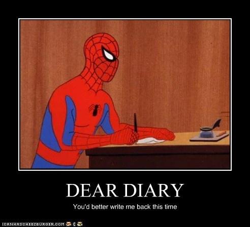 diary Spider-Man Super-Lols wtf - 5679150336