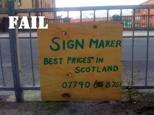 Professional At Work signs UK - 5679170560