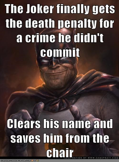 batman,death penalty,joker,Super-Lols