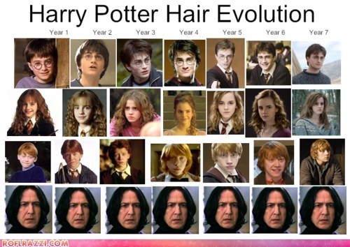 Alan Rickman Daniel Radcliffe emma watson funny Harry Potter Movie rupert grint - 5679556096