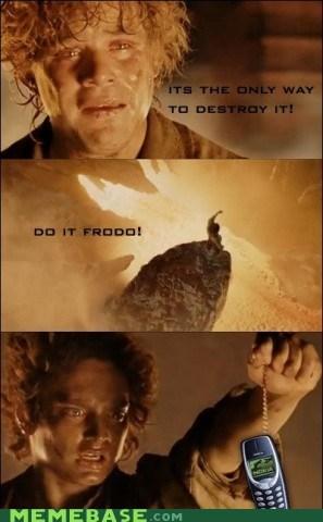 frodo Memes mordor nokia ring - 5679557120