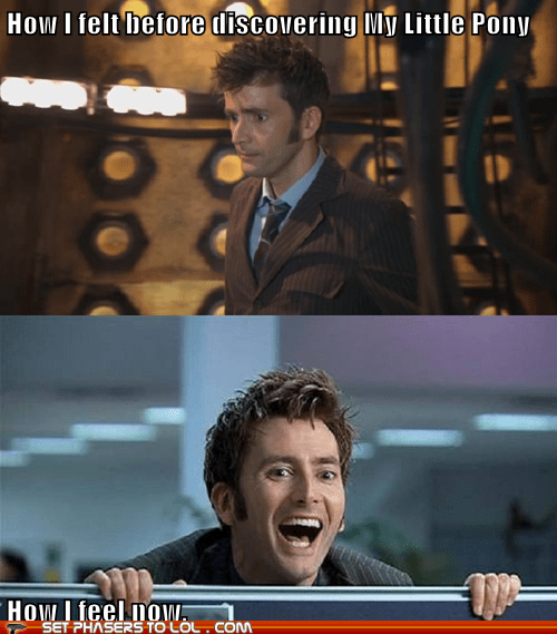 David Tennant discover doctor who my little pony sadness the doctor - 5679729408