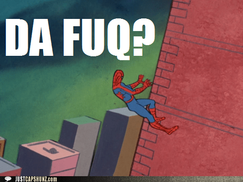 1960s spiderman,confused,da fuq,Spider-Man,superhero,wtf,wth