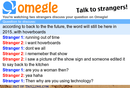 back to the future,kitchen,Omegle,spymode