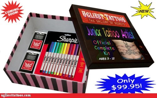 coming soon junior tattoo artist sharpies - 5679916032