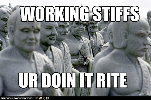political pictures,statues,working stiffs