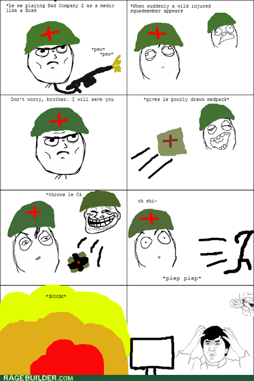 battlefield,medic,Rage Comics,video games
