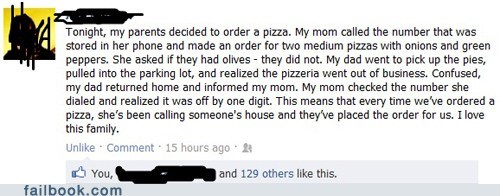 neighbors,nice,pizza,win,wrong number