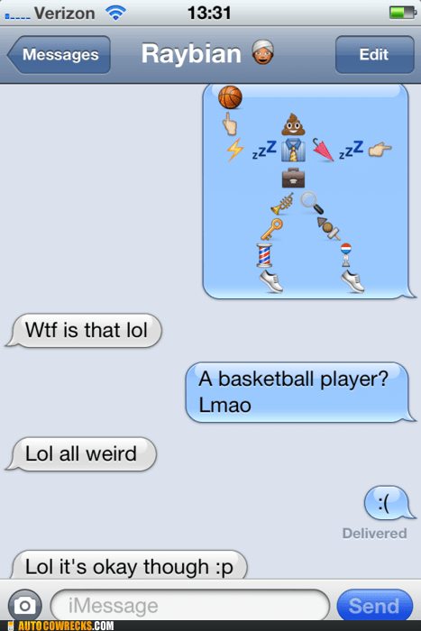 basketball,casual racism,emoji,emoticon,poop,weird